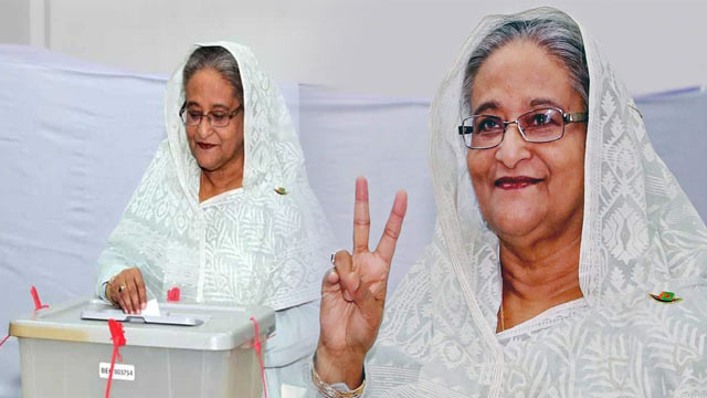 Bangladesh Polls: Sheikh Hasina Secures 4th Term Land Slide Victory