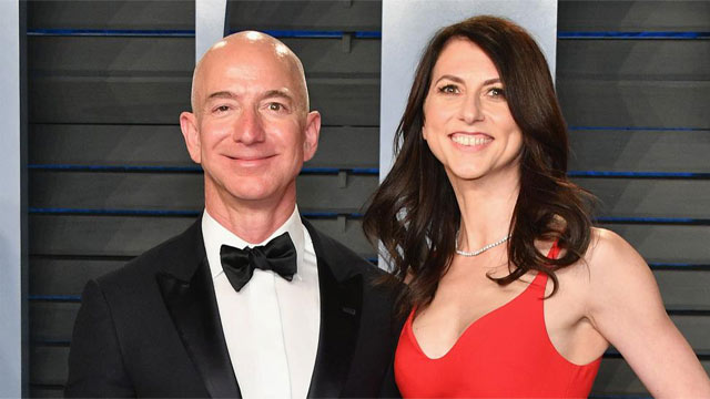 Amazon's CEO Jeff and wife MacKenzie Bezos Getting Divorced