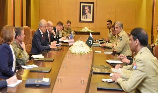 US Envoy Discussed Afghan Reconciliation With COAS