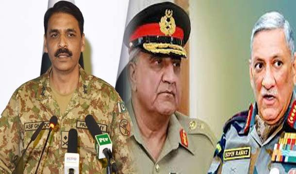DG ISPR Rejects Indian Media Reports on COAS Bajwa's Contact With Indian Counterpart