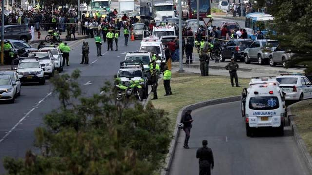 21 Dead, Several Injured in Bomb Attack on Colombian Police Academy