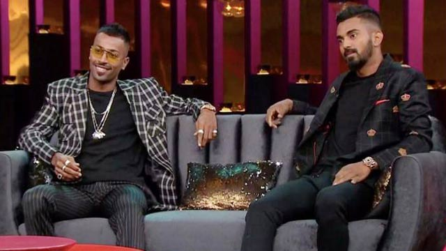 Hardik Pandya and KL Rahul Suspended over Controversial Remarks