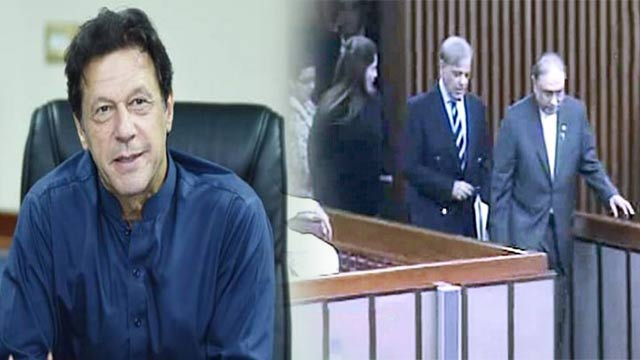 PM Imran Responds to Opposition's Walkout From NA