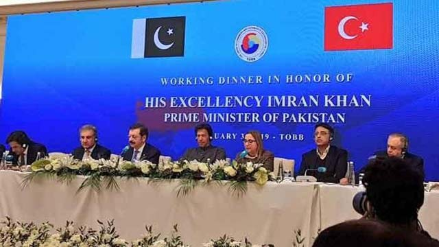 PM Imran Urged Turkish Business Community for Investment