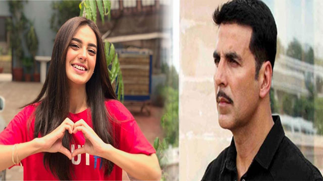 Iqra Aziz in Love with Akshay Kumar