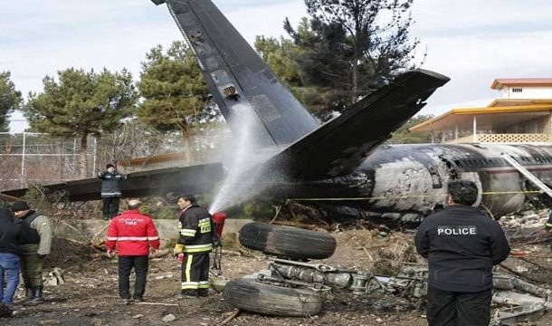 Iran: 15 Killed in Cargo Plane Crash