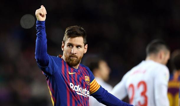 Messi Scores 400th Barcelona Goal