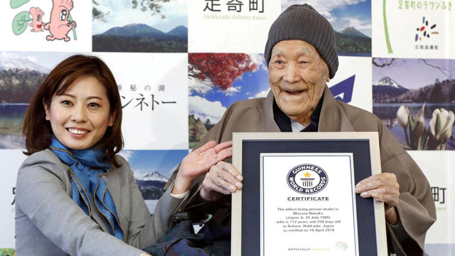 World's Oldest Man Dies in Japan