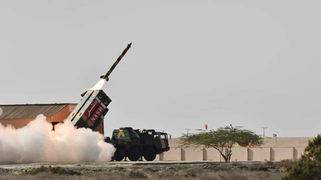 Pakistan Successfully Test Ballistic Missile 'Nasr'