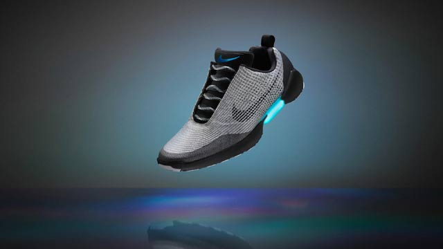 Nike Introduces Self-Lacing Basketball Shoes