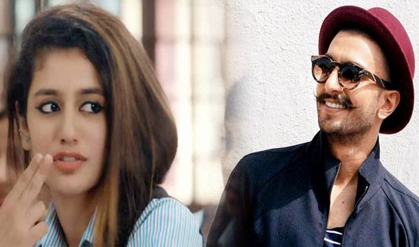 Wink Girl Wanted to Star With Ranveer Singh