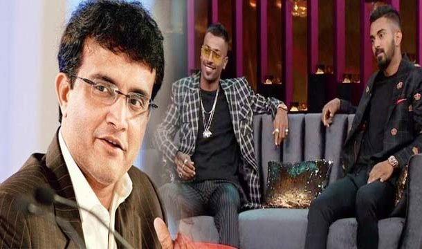 Sourav Ganguly Backs Pandya, KL Rahul