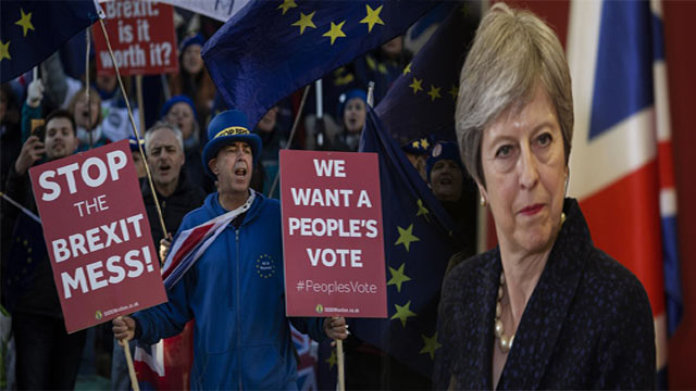 British Government Considering Extreme Measures to Stop No Deal Brexit Chaos