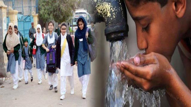 More Than 80% Public Schools in Karachi Without Clean Drinking Water