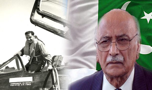1st Death Anniversary of Air Marshal Asghar Khan Being Observed Today
