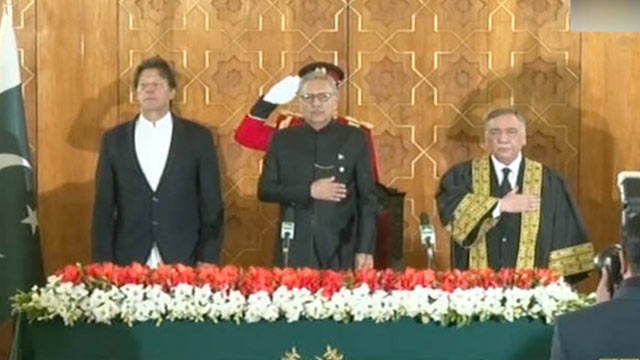 Justice Khosa Sworn in As Chief Justice of Pakistan
