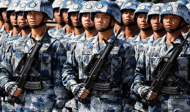 China Reduces Land-Based Army Strength By Half