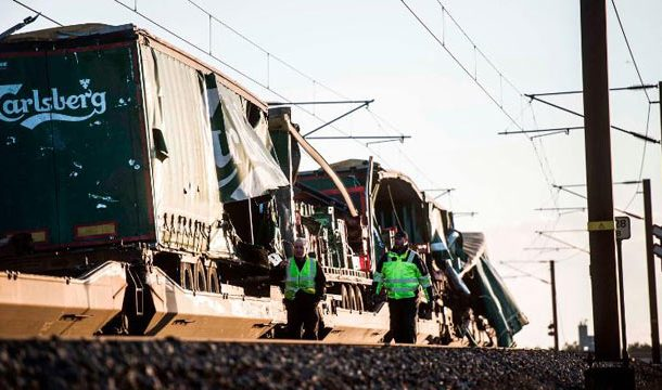 Denmark: Several Killed in Train Accident