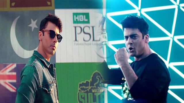 Here's How People Reacted on Fawad Khan's PSL Anthem