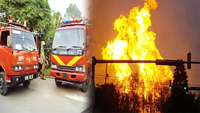 Gas Pipeline Explodes in Sadiqabad
