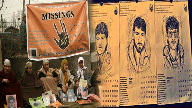 Calendar Launched by Kashmiris to Remember the Disappeared Precious Ones