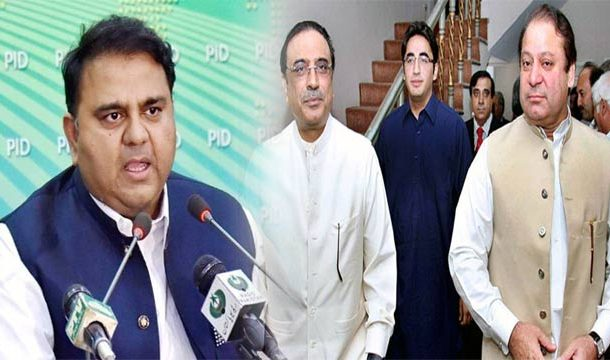 Political Careers of Nawaz, Zardari Come to An End: Fawad