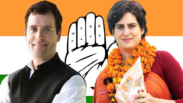 Priyanka Gandhi Officially Joins Active Politics