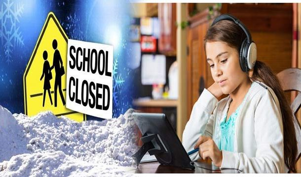 No Break from School as 'Snow Day' Becomes 'E-Learning Day'