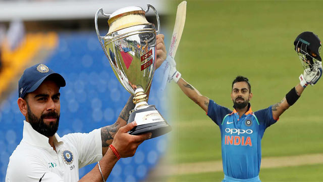 Kohli Creates History, Wins Three Major ICC Awards