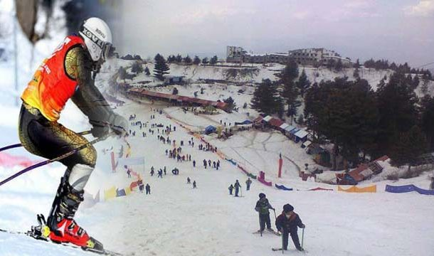 Tourist Flocked to Malam Jabba for Skiing Competion