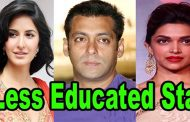 Check Out The Less Educated Bollywood Celebrities