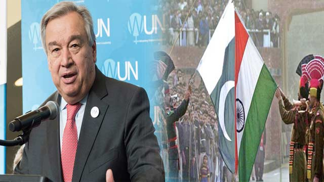 UN Chief Urges India-Pakistan to Ensure Peaceful Situation in Region