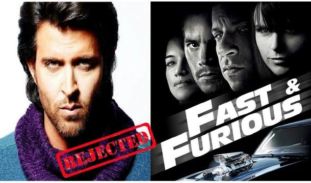 Check Out Top Hollywood Films Rejected by Hrithik Roshan