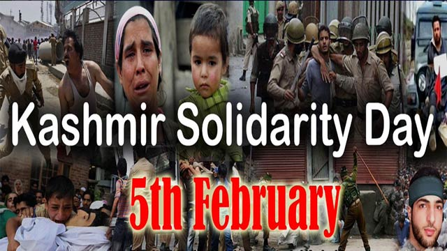Paying Tribute to Martyrs on Kashmir Solidarity Day