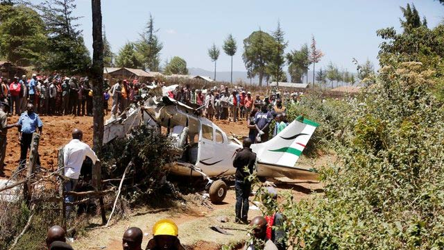 5 killed in Kenya Plane Crash