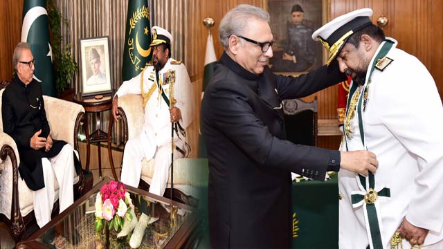 President Confers Nishan-i-Imtiaz Upon Sri Lankan's Top Military Official