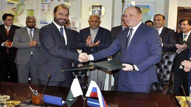 Pakistan, Russia to Build an Offshore Gas Pipeline