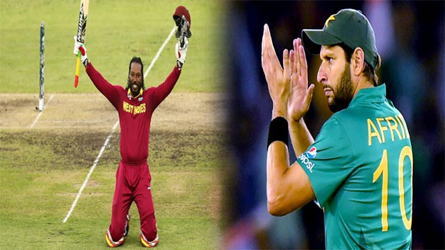Chris Gayle Breaks Afridi's Record of Most ODI Sixes