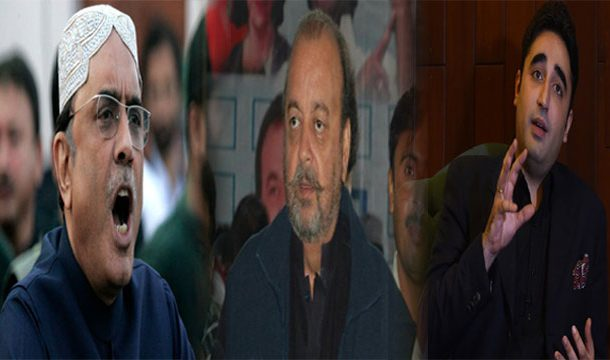 Zardari, Bilawal Lamented on Durrani Arrest
