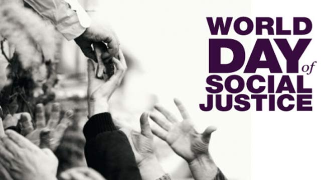 World's Social Justice Day Being Observed Today