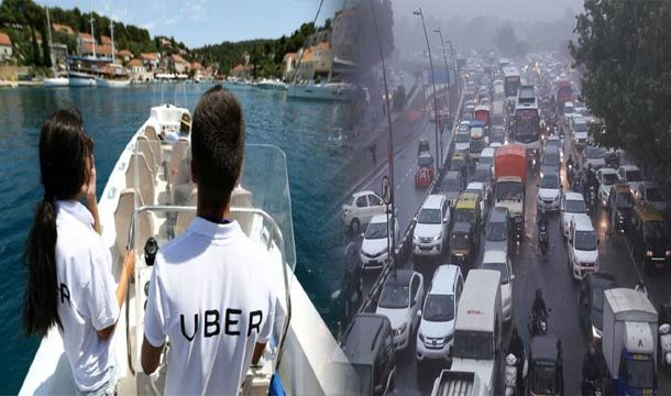 In Order To Beat Mumbai's Terrible Traffic, Uber Is Now Using Boats