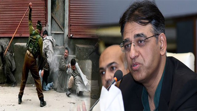 India Must Realize its Repressive Policies in IOK: Asad Umar