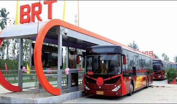 New Buses of BRT System Arrive in Peshawar