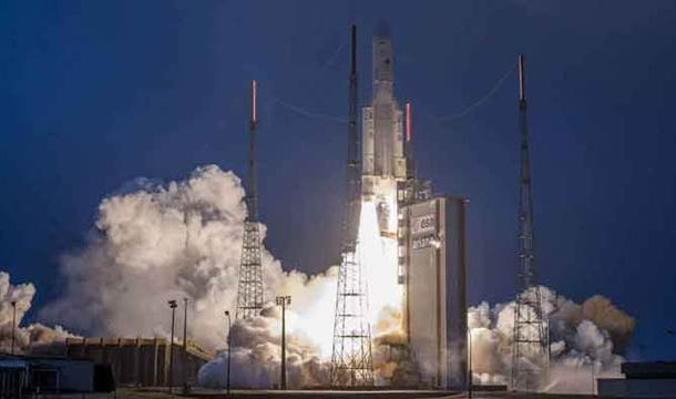 India Launches 40th Communication Satellite