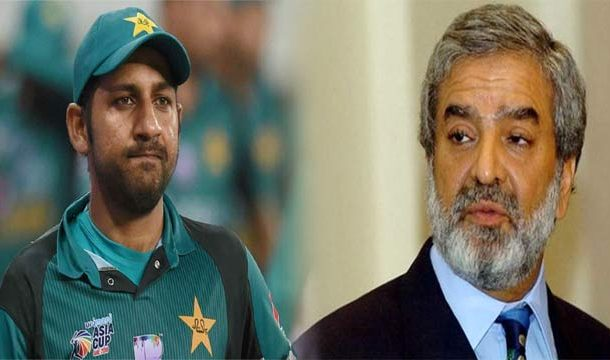 PCB Chairman Expresses Anger at ICC Over Sarfraz Ban
