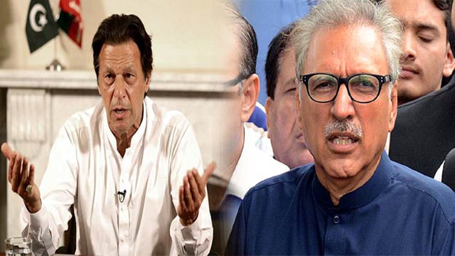 PM Imran, President Assure Consistent Support for Kashmir