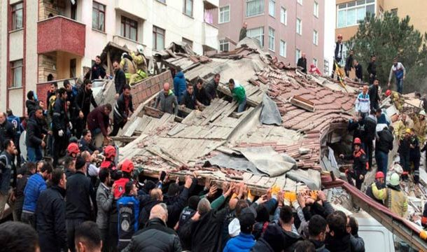 Istanbul: 6-Story Building Collapse Kills Two People