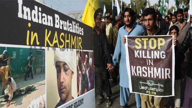 Int'l Conference on Indian Brutalities in IOK  to be Held Today