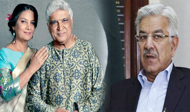 Khawaja Asif Criticizes Javed Akhtar, for Cancelling Pakistan Trip