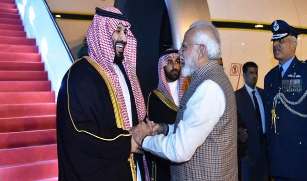 Saudi Crown Prince Reaches India For First Bilateral Visit